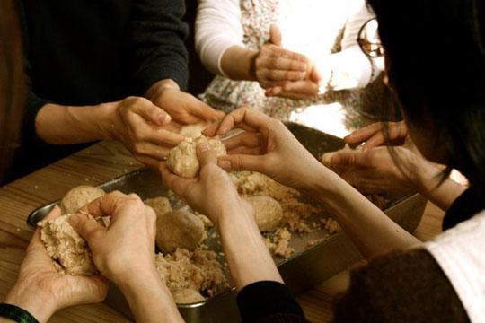 1300年も続いている農家宮本山の麹を使った『おしゃべり味噌』作り☆